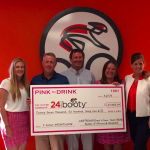 Pink to Drink Event Serves Up Big Check to 24 Foundation